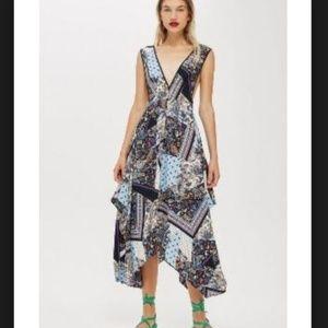 topshop | penifore midi dress